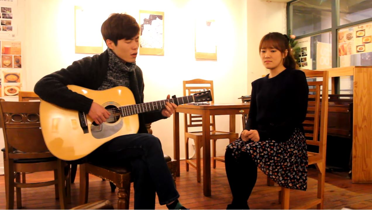 Almost Is Never Enough cover (아리아나그란데 Ariana Grande) - 어쿠스윗 acoustic ver. live
