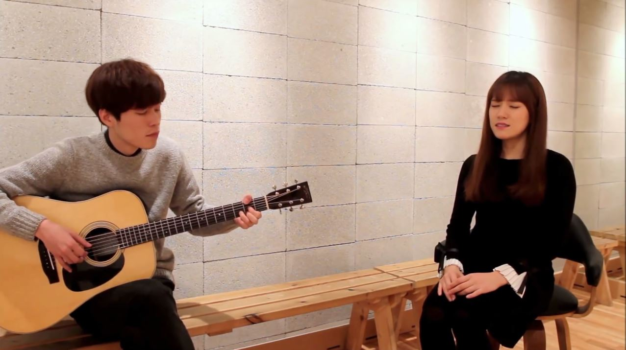 광화문에서(From Gwanghwamun) cover (규현 Kyuhyun ) - 어쿠스윗(Acousweet) female acoustic ver. live